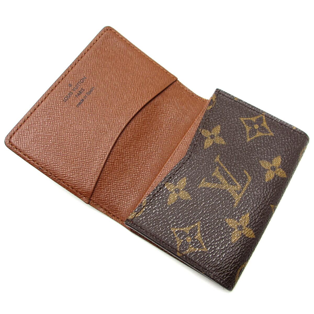 Auth Louis Vuitton Monogram Canvas Business Card Holder M62920 (DH44689)   eBay