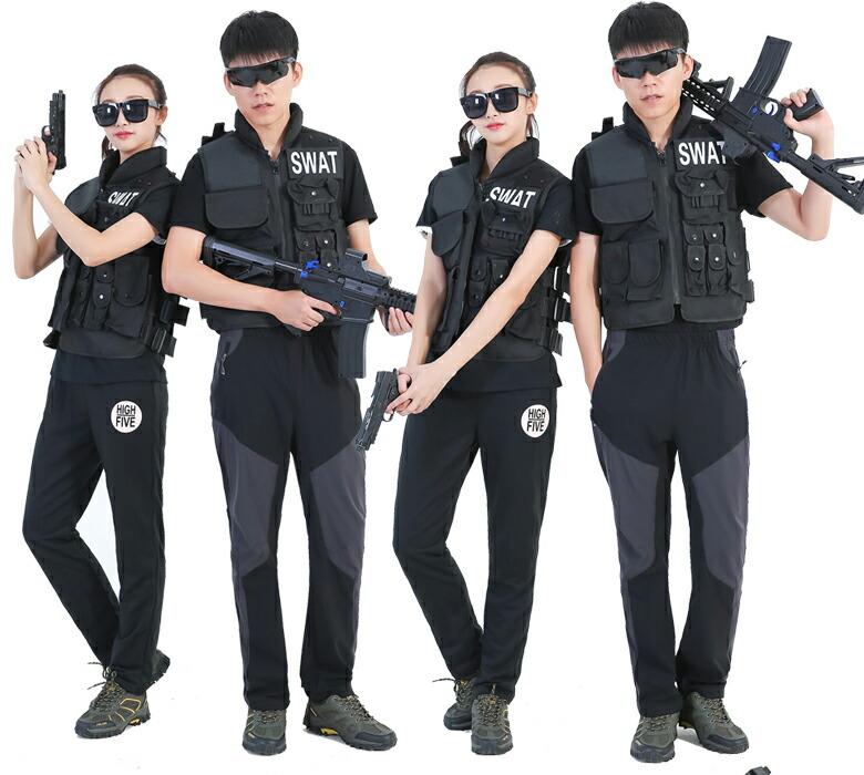 スワット SWAT コスプレ ミルフォース ベスト レプリカ ハロウィン コスチューム サバイバルゲーム(サバゲー) 服 MW1 ファイナルスタンド SWAT サバイバルゲーム 服 SWAT コスプレ ハロウィン ミルフォースベスト