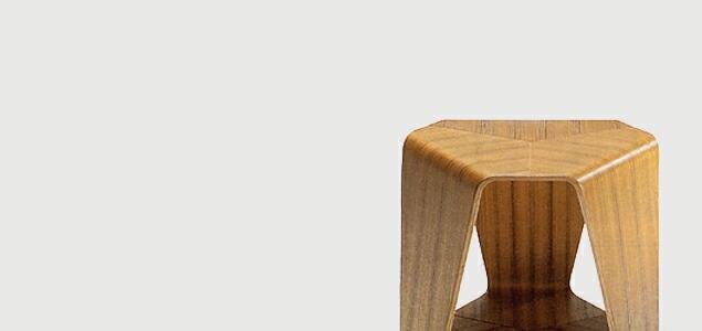 【MOMA永久展示】天童木工/田辺麗子/ムライスツール[田辺麗子/ムライスツールは天童木工]