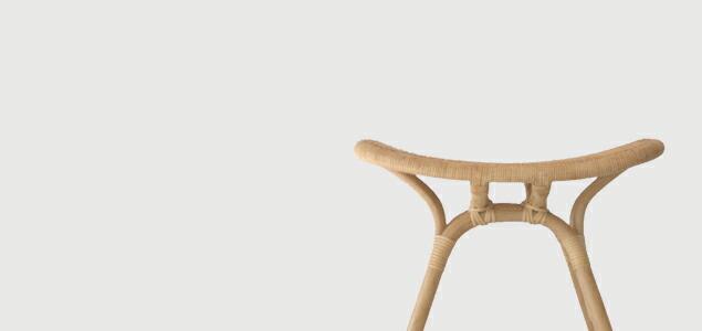 渡辺力 riki watanabe|YMK ワイエムケー/籐 椅子/トリイスツール[ 渡辺力 riki watanabeのラタン製トリイスツール ]