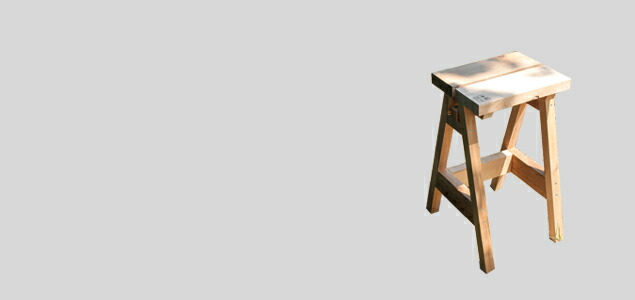 石巻工房/スツール/木製/ISHINOMAKI HIGH STOOL [ 石巻工房の木製スツール ]