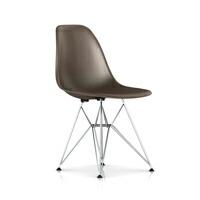 【正規保証5年】ハーマンミラー社 イームズ 椅子 FRPシェルチェア ワイヤーベースサイドチェア (シールブラウン×トリバレントクローム)