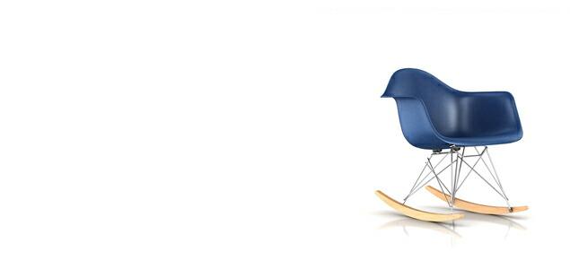 【正規保証5年】ハーマンミラー社 イームズ FRPシェルチェア  ロッカーベース アームチェア ベース:クローム( シールブラウン×メープル)