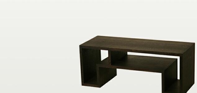 abode アボード/オケージョナルテーブル/オーク材/ダークブラウン(ラージ)