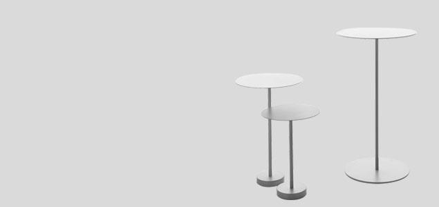 深澤直人/BINCAN TABLE/ハイテーブル
