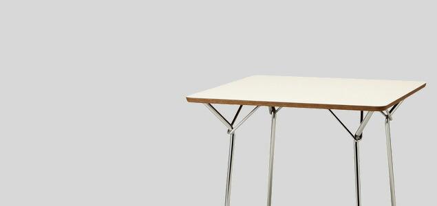 天童木工/柳宗理 YANAGI DESIGN/テーブル 850mm/サペリ