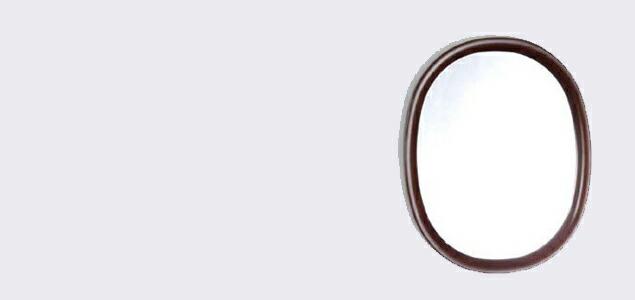 秋田木工 柳宗理 sori yanagi ウォールミラー 玄関 鏡 姿見 壁掛け ミラー