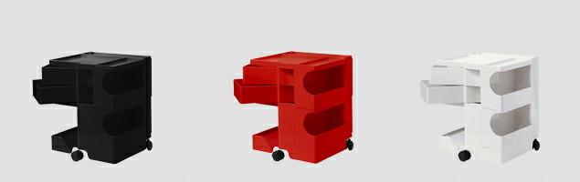 boby wagon ボビーワゴン 2段2トレイ カラーバリエーション