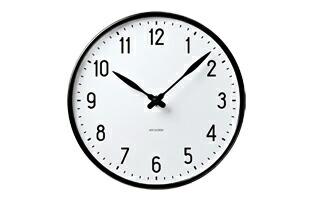 ローゼンダール アルネ ヤコブセン 掛時計・壁掛け時計 STATION ステーション 210  [ デザイナーズ ウォールクロック 北欧 ]