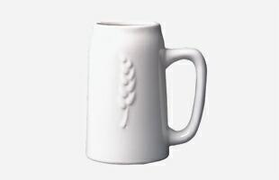 柳宗理/セラミック/ビールジョッキ/白