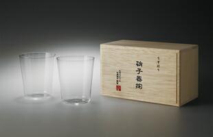 松徳硝子/薄いうすはりグラス/オールド オールド3種セット 木箱入 [うすはりグラス/オールドは松徳硝子/お歳暮にウィスキー&ウィスキーグラス]