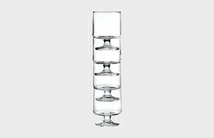 HOLMEGAARD STUB Glass 230ml 4pcsはスタッキングできることから置き場所に困りません