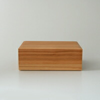 東屋 あずまや/木製 バターケース/200g半切 [木製 バターケース200g半切は東屋]