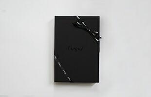 クチポール ラッピング リボン ブラックイメージ