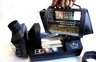 自家焙煎用にぴったりの家庭用電動焙煎機
