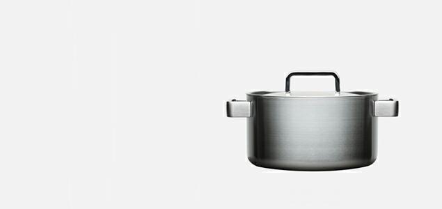 イッタラ/Hackman/Tools/キャセロール蓋付き5.0L