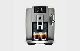JURA 全自動コーヒーマシン E8 正面イメージ