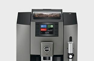 JURA 全自動コーヒーマシン E8 真横から見たイメージ