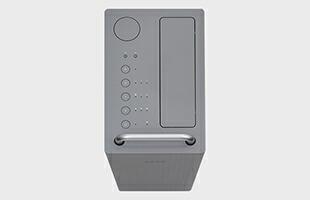 アイコンを採用してシンプルに仕上げた操作パネルは、直感的な操作を可能にしています