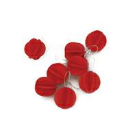 北欧lovi ロヴィ/Sツリー用 ボール型 クリスマス オーナメント1.7cm x 8個入/ライトレッド[北欧loviのボール型クリスマス オーナメント]【ネコポス対応可】[ネコポス便 1/8]