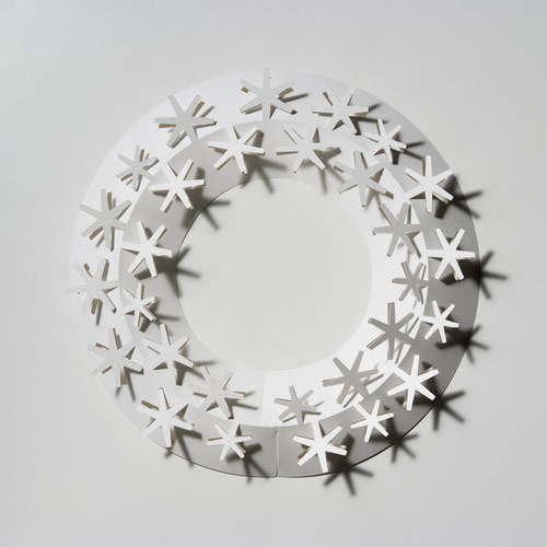 Designshop Rakuten Global Market Paper Wreath White