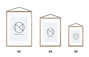 北欧デンマークの新ブランドMOEBEのポスターフレーム、FLAME