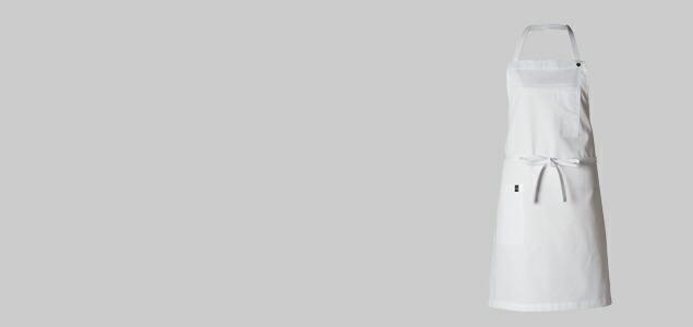 母の日 エプロン ギャルソン かわいい おしゃれ ワンピース 黒 白 エプロン 母の日 ギフト プレゼント El Transwaal エル トランスバル/ギャルソンエプロン 業務用 男性用 ワンピース