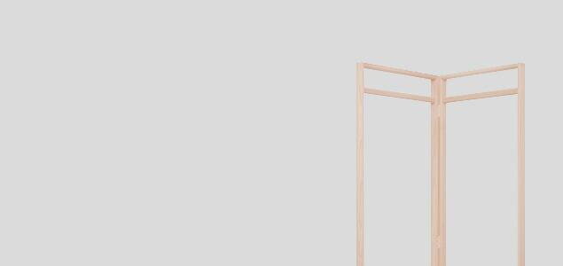 東屋 コートハンガー 衣桁 長丈・広幅[ 北欧インテリアにもぴったりの東屋 木製コートハンガー ]