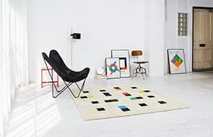 カラフルアクセンツ イメージ<br>【Photo:Masatoshi Takahashi, Styling:Yumi Nakata, Cooperation:Royal Furniture Collection】