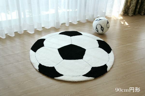 Auc Dothespace Sucker Ball Rug Soccer Ball Rug 140 Cm