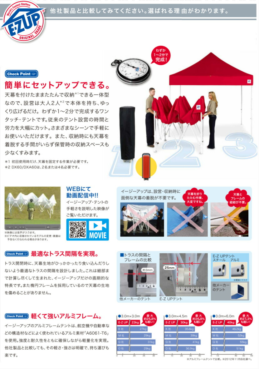 E-ZUP easy up tent VANTAGE dream series waterproof disaster prevention steel frame one-touch tent 30m *3.0m DR30-17 [general-purpose model]  sc 1 st  Rakuten & auc-dream-diy | Rakuten Global Market: E-ZUP easy up tent VANTAGE ...
