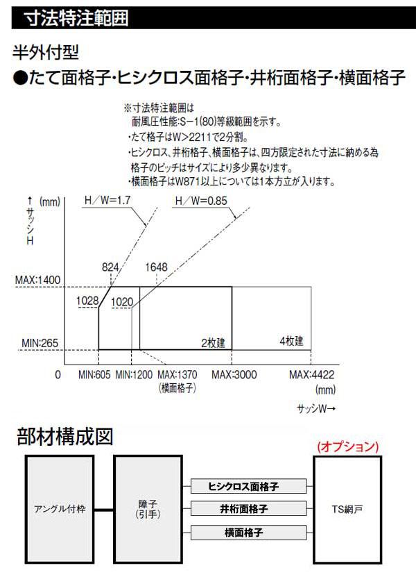面格子付サッシ説明3