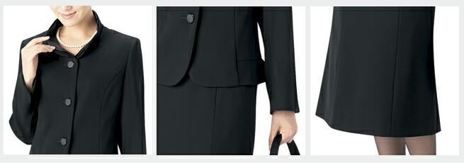 日本製ブラックフォーマルレディース婦人服喪服礼服点スーツ(2ボトム) 1312-4