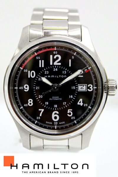 【HAMILTON】ハミルトン カーキ フィールド メンズ 自動巻 腕時計