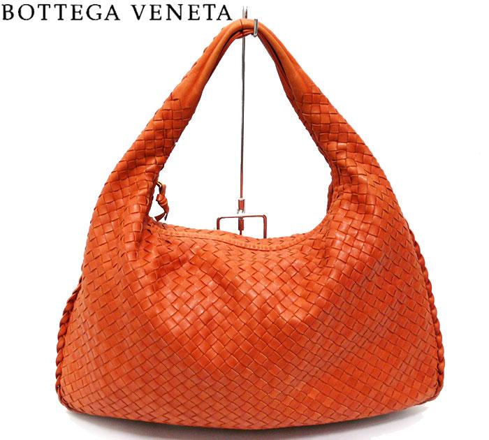 【BOTTEGA VENETA】ボッテガ ヴェネタ イントレチャートハンドバッグ