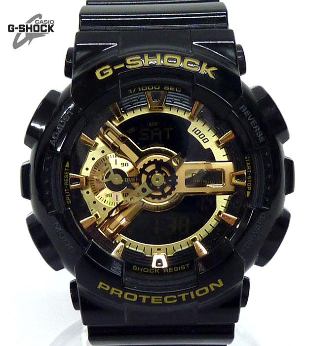 【G-SHOCK】ジーショック GA-110GB ブラックゴールドシリーズ クオーツ リストウォッチ