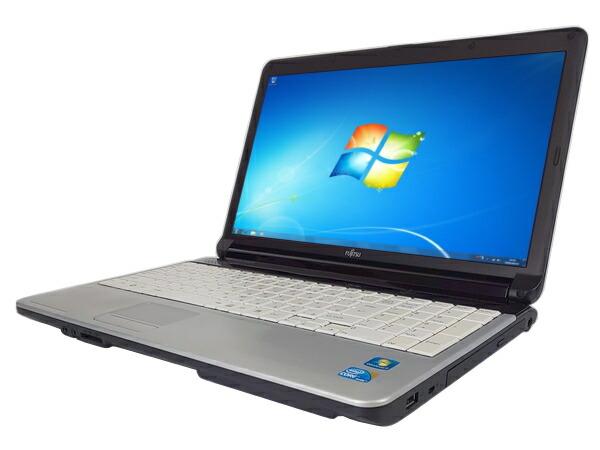 富士通 LIFEBOOK A530/BX (Core i3 2.5GHz 2GB 160GB DVDマルチ Windows7 Pro 64bit)
