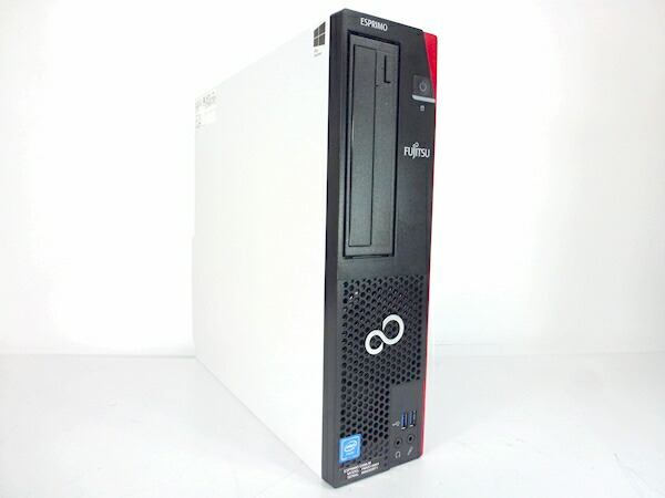 [Y01D] 【2015年冬発表モデル】 富士通 ESPRIMO D586/M  (Celeron G3900 4GB 320GB DVD-ROM) Windows7