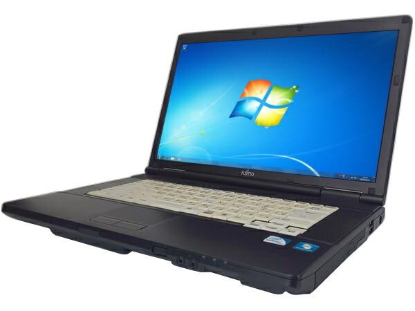 富士通 LIFEBOOK A552/E (Celeron 1.8GHz 2GB 250GB DVDマルチ Windows7 Professional 32bit)