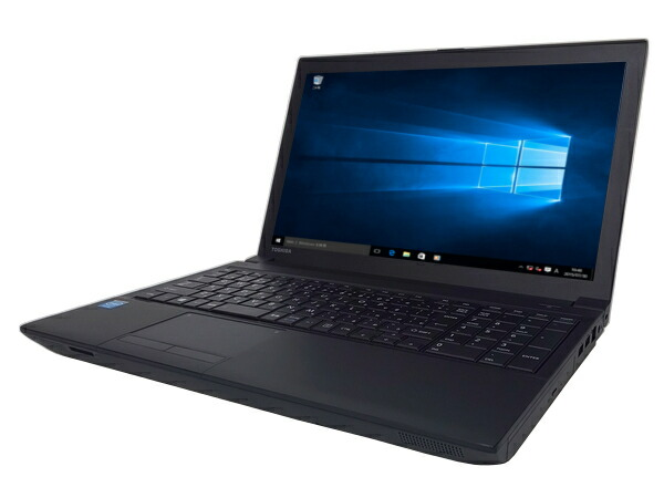 東芝 dynabook Satellite B453/J (Celeron 1005M 1.9GHz 4GB 320GB DVD-ROM Windows10 Pro 64bit)