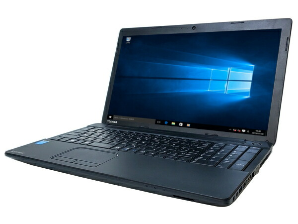 東芝 dynabook Satellite B354/25KB (Core i5 4200M 2.5GHz 4GB 500GB DVDマルチ Windows10 Pro 64bit)