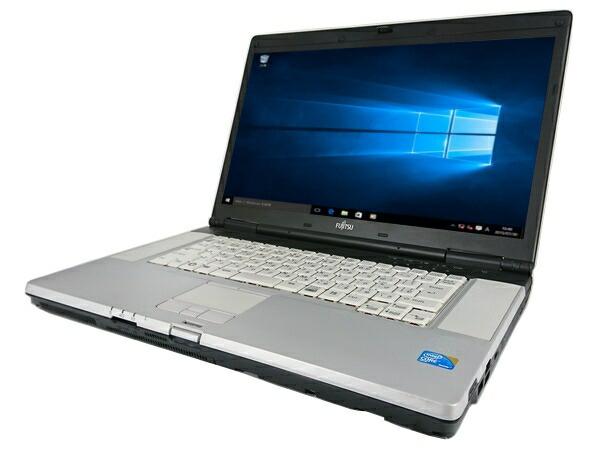 [無線LAN対応] 富士通 LIFEBOOK E780/B (Core i5 2.66GHz 4GB 160GB DVD-ROM Windows10 Home 64bit)