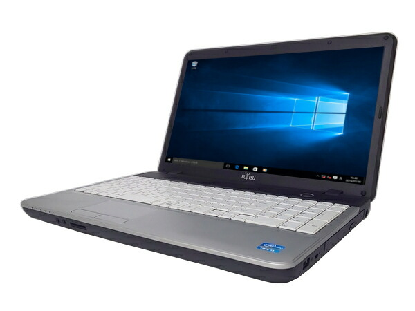 富士通 LIFEBOOK A531/DX (Core i3 2330M 2.2GHz 4GB 250GB DVDマルチ Windows10 Pro 64bit)