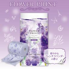 花束フラワープリント