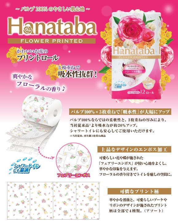Hanatabaプリント