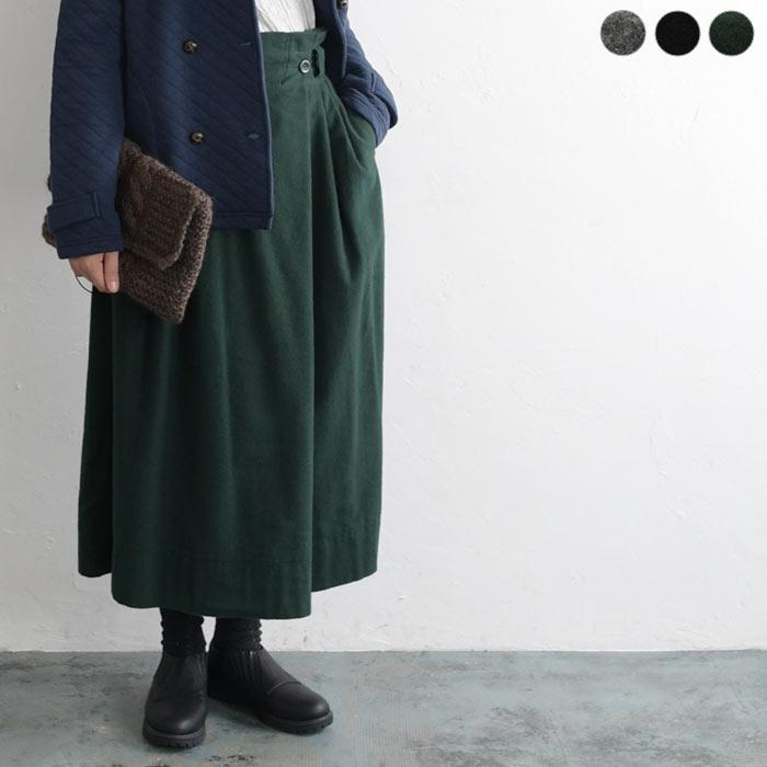 コットンラップ風ボックススカート