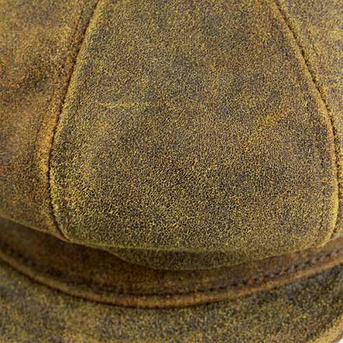 2d32c76e ELEHELM HAT STORE: Hunting caps men hats New York Hat antique cowhide leather  newsboy Brown ANTIQUE LEATHER SPITFIRE 9245 (Cap and hat shop fashion ...