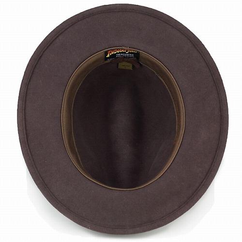 ed60a5fd00550 ELEHELM HAT STORE  Indiana Jones Hat Disney crushable wool felt men s movie  Hat adventure home autumn winter   Brown