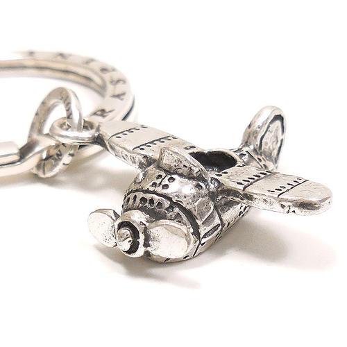 ジョバンニ・ラスピーニ:プロペラ機の燻し銀キーホルダー