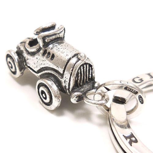 ジョバンニ・ラスピーニ:自動車の燻し銀キーホルダー